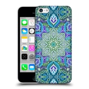 Official Micklyn Le Feuvre Mandala Peacock Summer Hard Back Case For Apple Iphone 5C