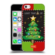 Official Emoji Ugly Christmas Tree Soft Gel Case For Apple Iphone 5C