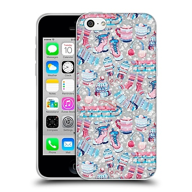 Official Micklyn Le Feuvre Patterns 5 So Much Snow Soft Gel Case For Apple Iphone 5C