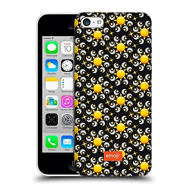 Official Emoji Floral Patterns Moon And Sun Hard Back Case For Apple Iphone 5C