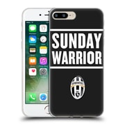 Official Juventus Football Club Lifestyle Sunday Warrior Black Soft Gel Case For Apple Iphone 7 Plus