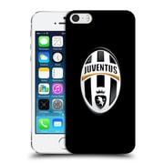 Official Juventus Football Club Crest Logo Black Hard Back Case For Apple Iphone 5 / 5S / Se