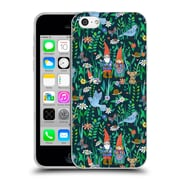 Official Micklyn Le Feuvre Patterns 5 Gnome Family Love Soft Gel Case For Apple Iphone 5C