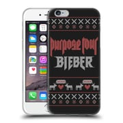 Official Justin Bieber Knitted Christmas Purpose Tour Soft Gel Case For Apple Iphone 6 / 6S