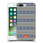 Official Emoji Winter Patterns Linear Soft Gel Case For Apple Iphone 7 Plus