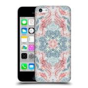 Official Micklyn Le Feuvre Mandala Fancy Soft Blue Hard Back Case For Apple Iphone 5C