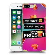 Official Emoji Food Extra Fries Hard Back Case For Apple Iphone 7 Plus