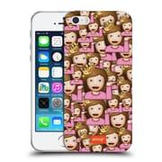 Official Emoji Full Patterns Sassy Soft Gel Case For Apple Iphone 5 / 5S / Se