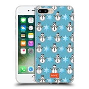 Official Emoji Winter Patterns Snow Soft Gel Case For Apple Iphone 7 Plus