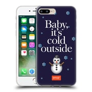Official Emoji Winter Quotes Cold Outside Soft Gel Case For Apple Iphone 7 Plus