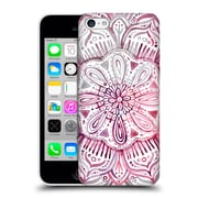 Official Micklyn Le Feuvre Mandala 2 Burgundy Blush Watercolour Hard Back Case For Apple Iphone 5C