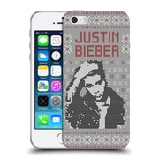 Official Justin Bieber Knitted Christmas Calendar Image Soft Gel Case For Apple Iphone 5 / 5S / Se