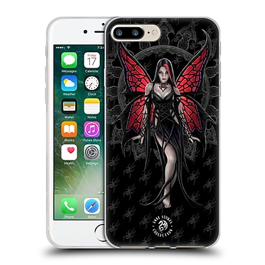 Official Anne Stokes Gothic Aracnafaria Soft Gel Case For Apple Iphone 7 Plus