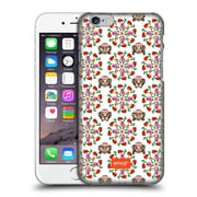 Official Emoji Floral Patterns Monkey And Flower Hard Back Case For Apple Iphone 6 / 6S