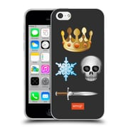 Official Emoji Movies And Series Gold Crown Soft Gel Case For Apple Iphone 5C