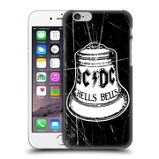 Official Ac/Dc Acdc Logo White Bell Hard Back Case For Apple Iphone 6 / 6S