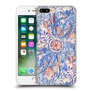 Official Micklyn Le Feuvre Florals Burst In Blue And Red Hard Back Case For Apple Iphone 7 Plus