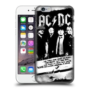 Official Ac/Dc Acdc Lyrics Rock Or Bust Hard Back Case For Apple Iphone 6 / 6S