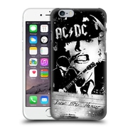 Official Ac/Dc Acdc Lyrics Rock The House Hard Back Case For Apple Iphone 6 / 6S