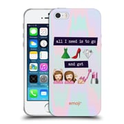 Official Emoji So Sassy All I Need Soft Gel Case For Apple Iphone 5 / 5S / Se