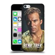 Official Star Trek Embossed Captain Kirk Mirror Hard Back Case For Apple Iphone 5C