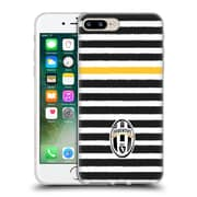 Official Juventus Football Club Lifestyle Horizontal Stripes Soft Gel Case For Apple Iphone 7 Plus