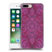 Official Micklyn Le Feuvre Doodle Patterns Magenta Pink And Coral Hard Back Case For Apple Iphone 7 Plus