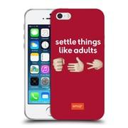 Official Emoji Speak Rock Paper Scissors Soft Gel Case For Apple Iphone 5 / 5S / Se