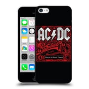 Official Ac/Dc Acdc Album Art Rock N Roll Train Hard Back Case For Apple Iphone 5C