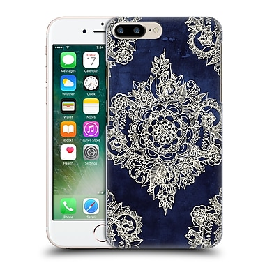 Official Micklyn Le Feuvre Doodle Patterns Cream Floral Moroccan Hard Back Case For Apple Iphone 7 Plus
