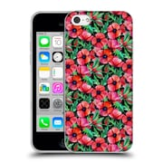 Official Micklyn Le Feuvre Florals 2 Plenty Of Poppies Soft Gel Case For Apple Iphone 5C