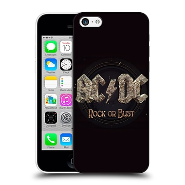 Official Ac/Dc Acdc Album Art Rock Or Bust Hard Back Case For Apple Iphone 5C
