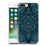 Official Micklyn Le Feuvre Doodle Patterns Black And Aqua Hard Back Case For Apple Iphone 7 Plus