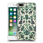Official Micklyn Le Feuvre Animals Two Rabbits Folk Art Pattern Hard Back Case For Apple Iphone 7 Plus