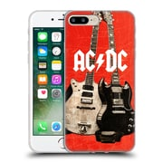 Official Ac/Dc Acdc Iconic Rock Guitars Soft Gel Case For Apple Iphone 7 Plus