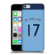 Official Manchester City Man City Fc Player Home Kit 2016/17 Group 1 De Bruyne Hard Back Case For Apple Iphone 5C
