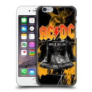 Official Ac/Dc Acdc Logo Flames And Bells Hard Back Case For Apple Iphone 6 / 6S
