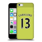 Official Manchester City Man City Fc Player Home Kit 2016/17 Group 1 Caballero Hard Back Case For Apple Iphone 5C