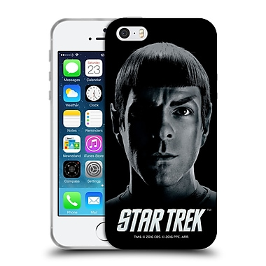 Official Star Trek Characters Reboot Xi Spock Soft Gel Case For Apple Iphone 5 / 5S / Se
