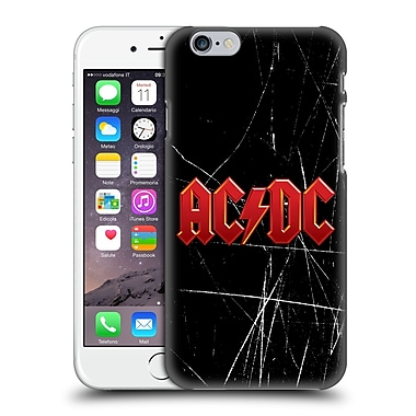 Official Ac/Dc Acdc Logo Red Hard Back Case For Apple Iphone 6 / 6S