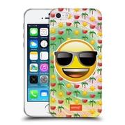 Official Emoji Smileys Summer Soft Gel Case For Apple Iphone 5 / 5S / Se