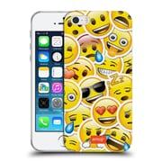 Official Emoji Smileys Sticker Soft Gel Case For Apple Iphone 5 / 5S / Se