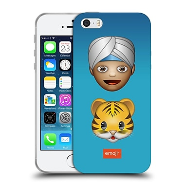 Official Emoji Movies And Series Man And Pet Soft Gel Case For Apple Iphone 5 / 5S / Se