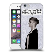 Official Justin Bieber Purpose World Tour 2016 Soft Gel Case For Apple Iphone 6 / 6S