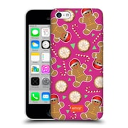 Official Emoji Christmas Patterns Gingerbread Cookies Hard Back Case For Apple Iphone 5C