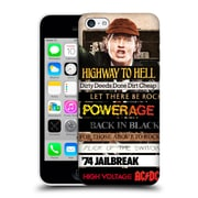 Official Ac/Dc Acdc Collage Album Titles Hard Back Case For Apple Iphone 5C