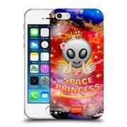 Official Emoji Space Princess Soft Gel Case For Apple Iphone 5 / 5S / Se
