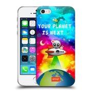 Official Emoji Space Planet Soft Gel Case For Apple Iphone 5 / 5S / Se