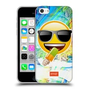 Official Emoji Solos Sunglasses Soft Gel Case For Apple Iphone 5C