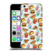 Official Micklyn Le Feuvre Patterns 2 Rainbow Fast Food Soft Gel Case For Apple Iphone 5C